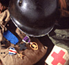 World War II uniform & medals of Japanese American