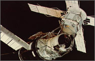 The <i>SkyLab</i> in orbit